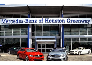 Houston car dealership Mercedes-Benz of Houston Greenway