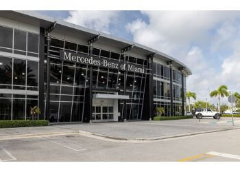 Miami car dealership Mercedes-Benzof Miami