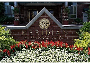 Alexandria apartments for rent Meridian At Braddock Station