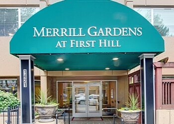 Seattle assisted living facility Merrill Gardens at First Hill