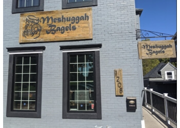 Kansas City bagel shop Meshuggah Bagels