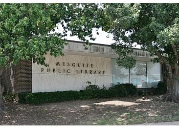 Mesquite landmark Mesquite Public Library Central Library