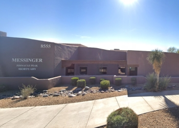 Scottsdale funeral home Messinger Pinnacle Peak Mortuary