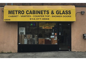 Yonkers custom cabinet Metro Cabinets & Glass