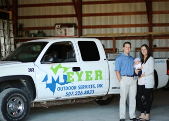 Rochester landscaping company Meyer Outdoor Services, Inc.