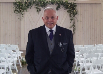 Baltimore wedding officiant Michael Lance Barrett Wedding Ministry