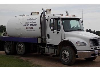 Sioux Falls septic tank service Micheal's Purple Petunia Septic Service
