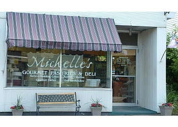 Manchester cake Michelle's Gourmet Pastries & Deli
