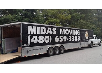 Gilbert moving company Midas Moving