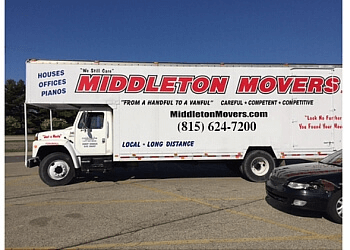 Rockford moving company Middleton Movers