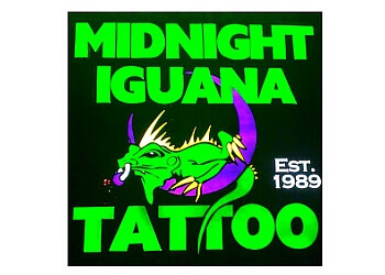 Athens tattoo shop Midnight Iguana Tattoo and Body-Piercing