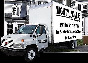 Tulsa moving company Mighty Movers