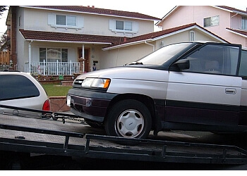Huntington Beach towing company Mighty Towing