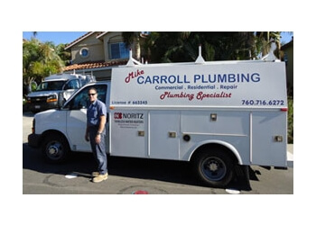 Escondido plumber Mike Carroll Plumbing, Inc.