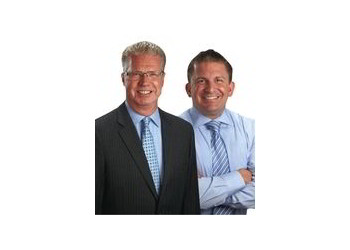 Anaheim real estate agent Mike Kelly and Travis Fairweather