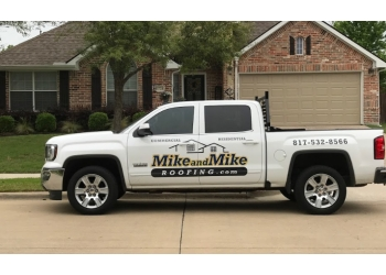 Fort Worth roofing contractor Mike and Mike Roofing
