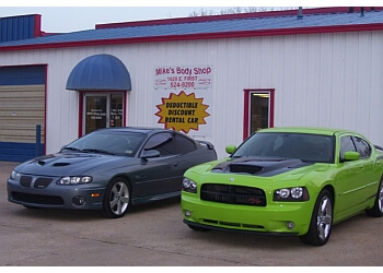 Wichita auto body shop Mike's Body Shop