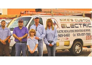 Miami electrician Mike's Custom Electric, Inc.