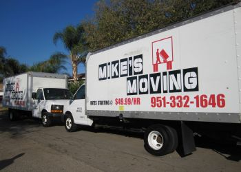 Riverside moving company Mike's Moving