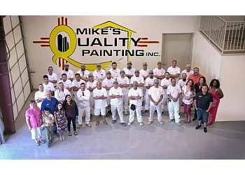 Albuquerque painter Mike's Quality Painting Inc.
