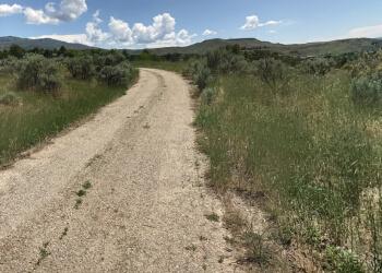 Boise City hiking trail Military Reserve