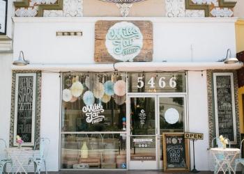 Los Angeles bakery Milk Jar Cookies