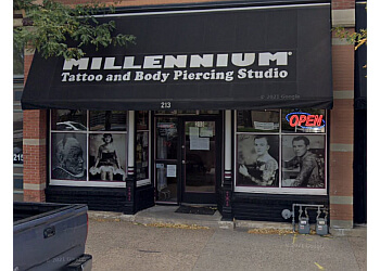 Fort Collins tattoo shop Millennium Gallery of Living Art