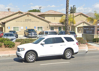 Moreno Valley funeral home Miller-Jones Mortuaries & Crematory