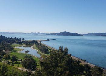 Richmond hiking trail Miller/Knox Regional Shoreline