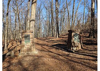 Elizabeth hiking trail Mills Reservation County Park