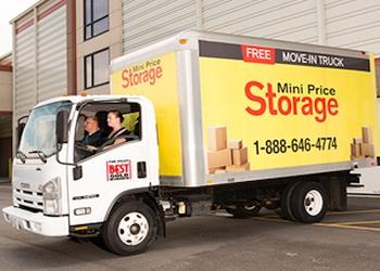 Norfolk storage unit Mini Price Storage