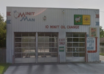 Corpus Christi car repair shop Minit Man 10 Minit Oil Change