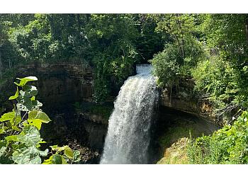 Minneapolis hiking trail Minnehaha Regional Park