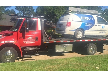 Baton Rouge towing company Minor Roadside & Towing LLC