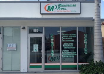 Miami printing service Minuteman Press