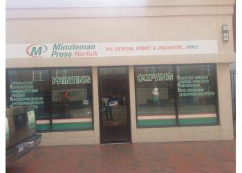 Norfolk printing service Minuteman Press