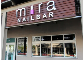 Miami nail salon Mira Nailbar