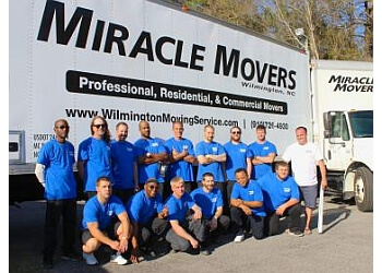 Wilmington moving company Miracle Movers