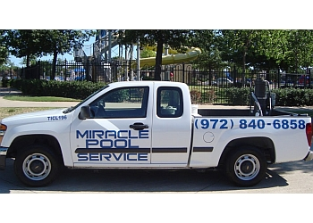 Garland pool service Miracle Pool Service, Inc.