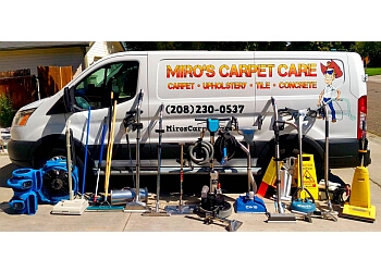 Boise City carpet cleaner Miro's Carpet Care