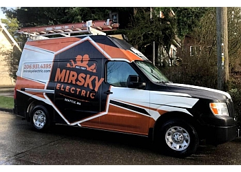 Seattle electrician Mirsky Electric, Inc.