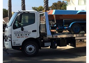 San Diego towing company Mission Valley Towing