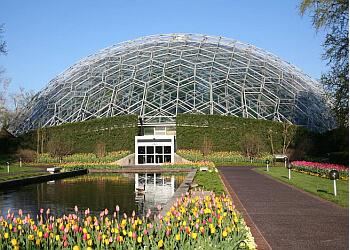 St Louis places to see Missouri Botanical Garden