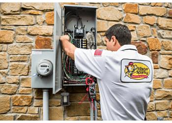Kansas City electrician Mister Sparky Electrician Kansas City