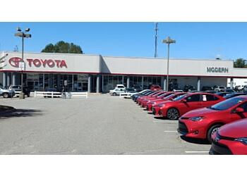 Winston Salem car dealership MODERN TOYOTA