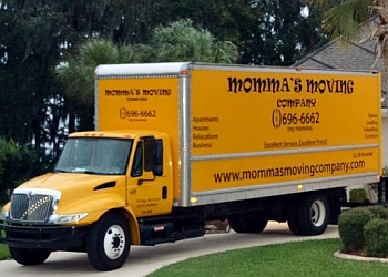 Jacksonville moving company Momma's Moving Company