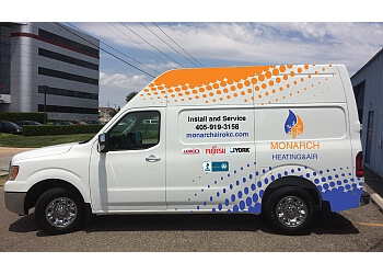 Oklahoma City hvac service Monarch Heating and Air