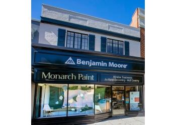 Washington window treatment store Monarch Paint & Design Centers