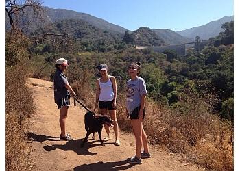 El Monte hiking trail Monrovia Canyon Park Trail