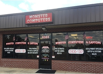 Fayetteville computer repair Monster Computers